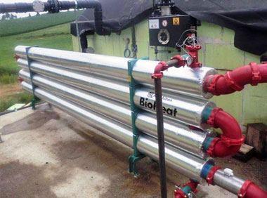 Biogas-Substratheizung BioHeat